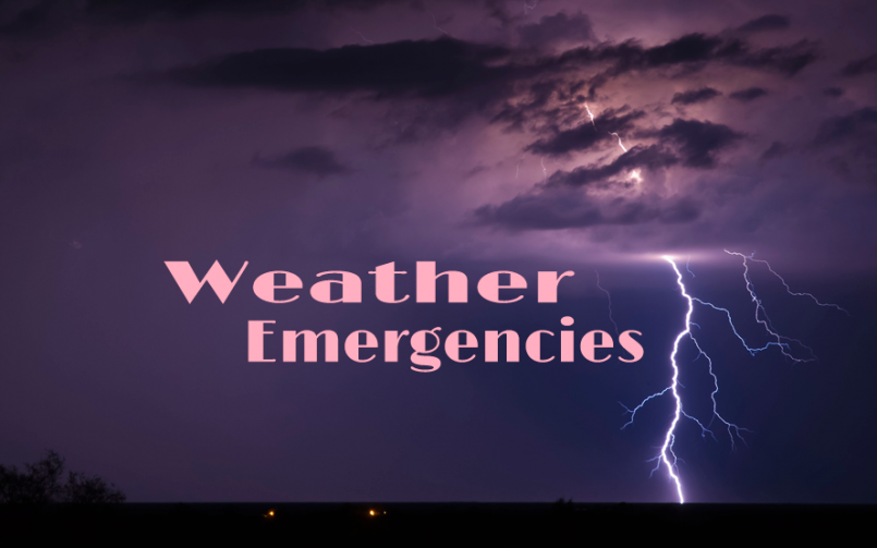 Prepare for Weather Emergencies
